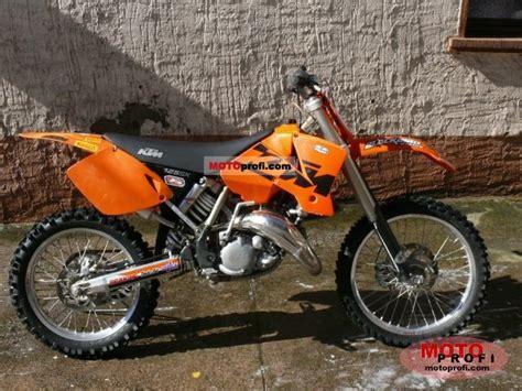 2003 Ktm 125 Sx Horsepower Ktm 125 Sx 2003 Specs And Photos
