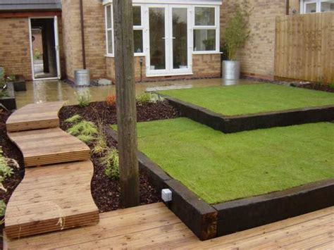 Using Railway Sleepers As Garden Edging by Beautiful Classic Lawn Edging Ideas The Garden Glove