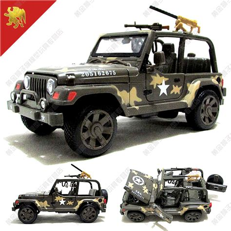 Jeeps Are Us New Us Jeep 1 24 Jeep Wrangler Assault Alloy Suv