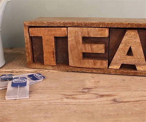 tea drawer mango wood tea drawer 187 gadget flow