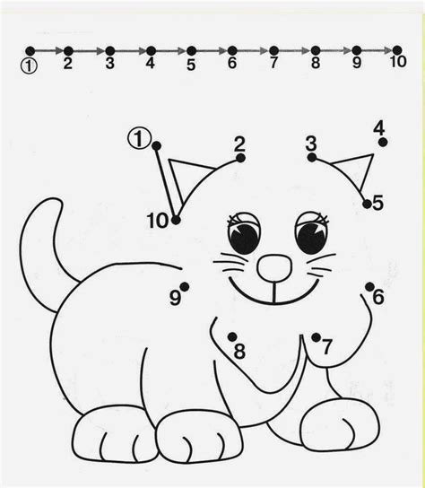 free printable dot to dot counting by 10 free dot to dot worksheets for kids part 2 vor schule