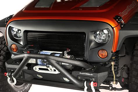 Gamis Bc 623 rugged ridge 12034 33 spartan grille kit for