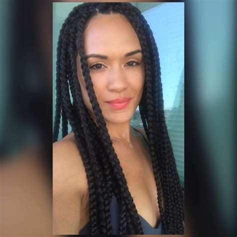 empire stars with short hair grace gealey is living for summer in box braids