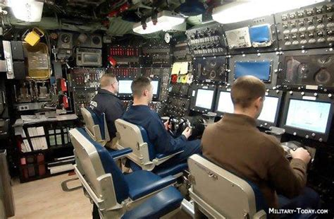 Nuclear Submarine Interior by Seawolf Class Images