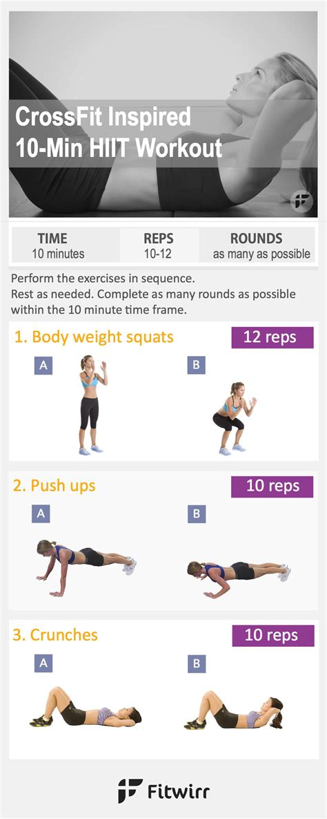 10 minute crossfit workout for beginners