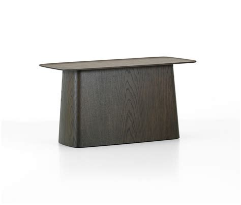 large side table wooden side table large mesas auxiliares de vitra