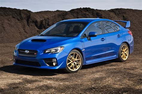 subaru sti 2015 subaru wrx sti launch edition term verdict