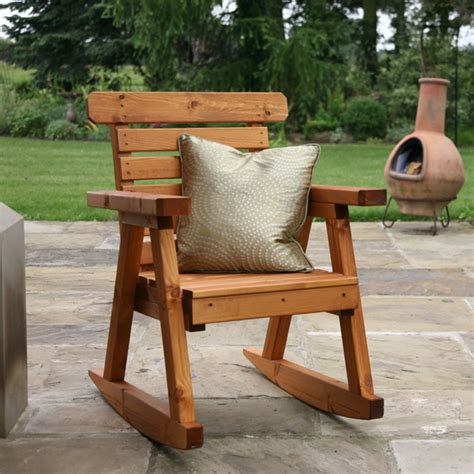 rocking garden chair customer reviews for tom chambers fsc wooden rocking