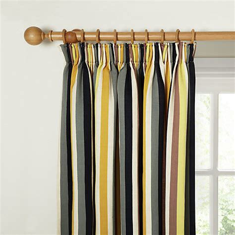 yellow stripe curtains harlequin babushka stripe lined pencil pleat curtains