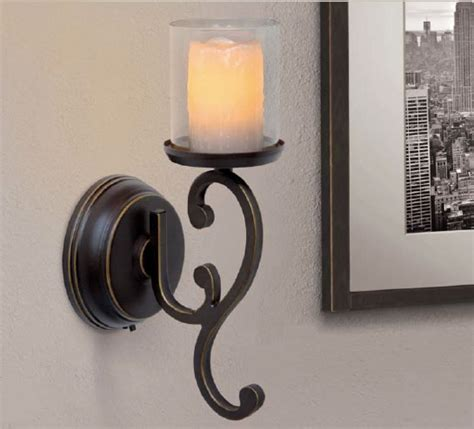 Flameless Wall Sconces Battery Operated Wall Sconces Battery Operated Flameless Candle Oregonuforeview