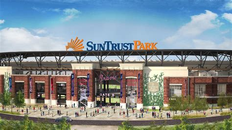 Suntrust Finder Suntrust Buys Naming Rights To New Braves Stadium Slideshow Atlanta Business Chronicle