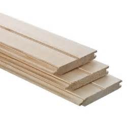 Tongue And Groove Ceiling Boards 1 In X 6 In X 8 Ft Tongue And Groove Pattern Stock Board