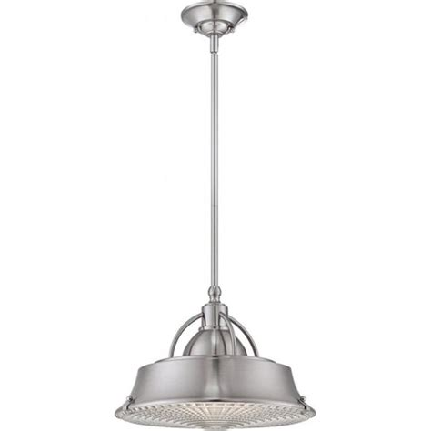 Industrial Style Pendant Lights Uk Industrial Style Ceiling Pendant Light In Brushed Nickel Finish