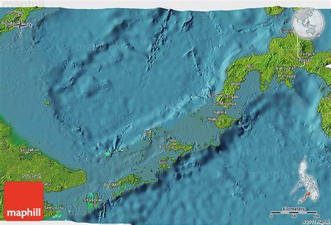 map philippines satellite satellite 3d map of region 9