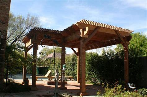 level  shaped pergola  benches pergolas