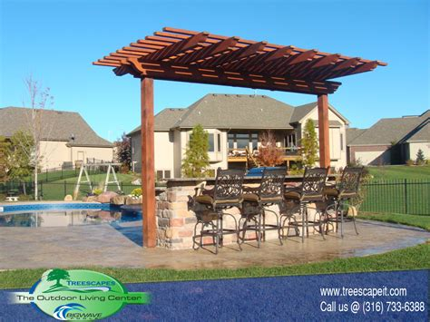 Backyard Plans structures pools wichita ks treescapes
