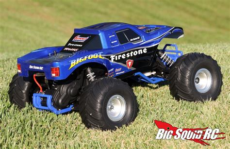 bigfoot rc truck unboxing traxxas bigfoot truck 171 big squid rc