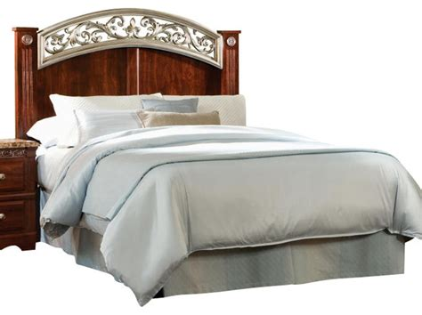 cherry headboards queen standard furniture triomphe full queen panel headboard in