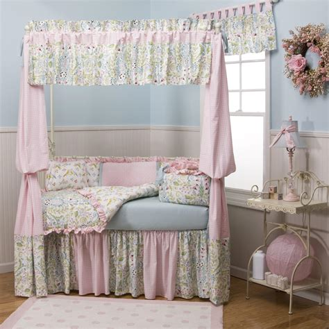 Bird Crib Bedding Bird Damask Fabric By The Yard Pink Fabric Carousel Designs