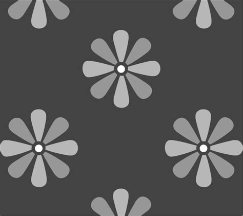 repeat pattern wall stencil large daisy flower wall stencil available to buy online