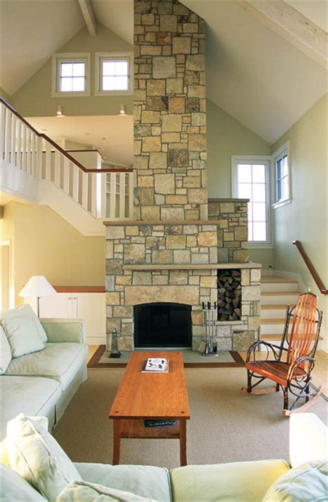 Cape Cod Style Living Room by Cape Cod House Style Living Room Boston By