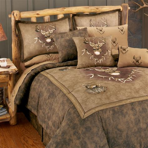 deer comforters whitetail ridge comforter set king