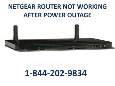 reset verizon fios after power outage 1 844 202 9834 netgear router not working after