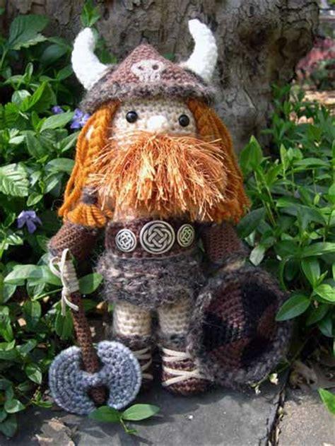 amigurumi viking pattern 4th stop on wiggly crochet dishcloths blog tour the