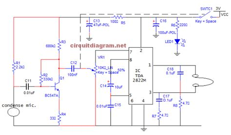 digital hearing aid circuit diagram small sound lifier for ears hearing aid schematic