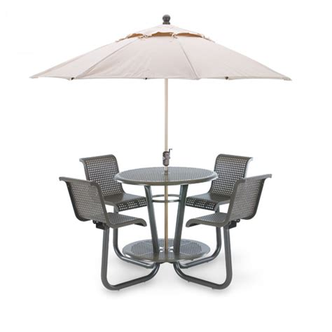 outdoor chair with table attached archive 187 camino collection bar height table with 4