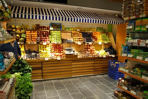 shopping ideas display interessant supermarkets grocery store designs
