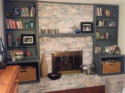 hometalk ideas for white washed white washed fireplace hometalk