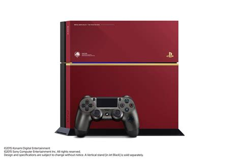 Console Ps 4 Metal Gear Solid V The Phantom Edition special edition metal gear solid v the phantom playstation 4 announced metal gear informer