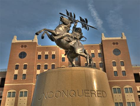 Florida State Mba Stats by Picture Of Statue Of Chief Osceola Tallahassee