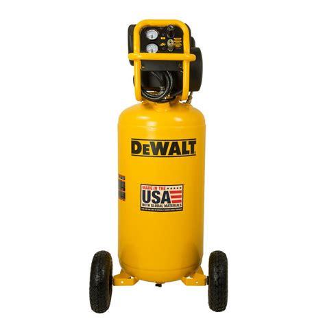dewalt 27 gal 200 psi portable vertical electric air