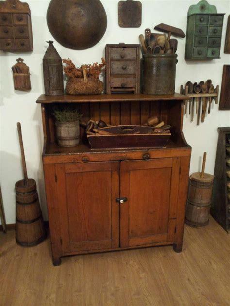 1886 Best Images About Primitive Living Decorating On Primitive Kitchen Furniture