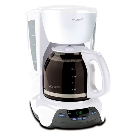 Mr. Coffee® Simple Brew 12 Cup Programmable Coffee Maker White, VBX20 NP
