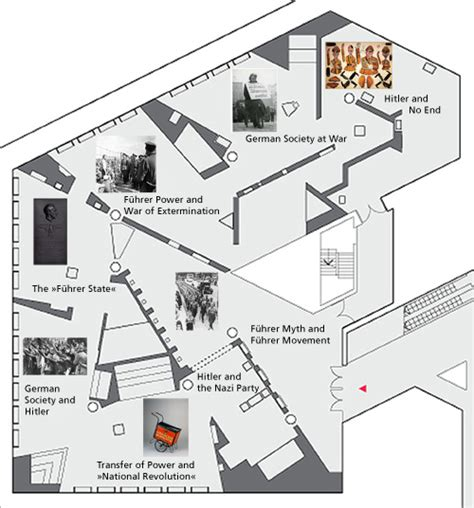 layout plan for exhibition deutsches historisches museum berlin hitler and the