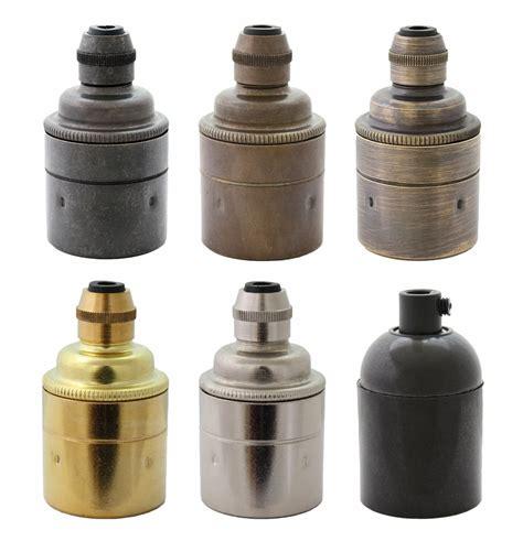 e27 fitting l holder es e27 brass bronze l holder ideal for vintage