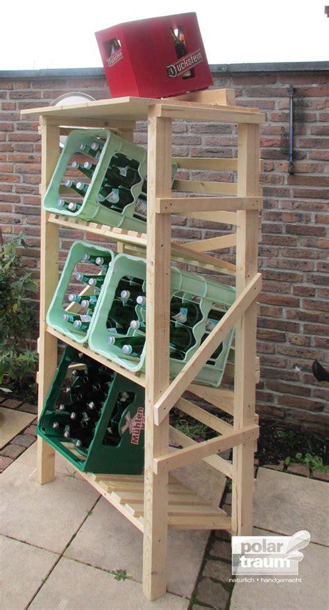 getränkekistenregal ikea getr 228 nkekisten regal aus fichtenholz f 252 r 6 kisten