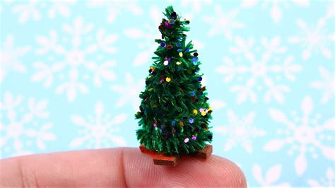 diy miniature christmas tree everything 4 christmas