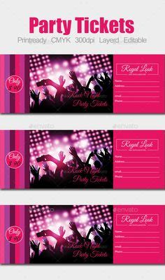 celebrate it templates all purpose cards concert ticket business card templates i this design