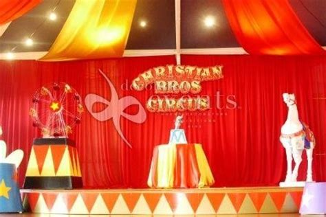 Carnival Theme Decorations Circus Decorative Events Amp Exhibitions Talent Show