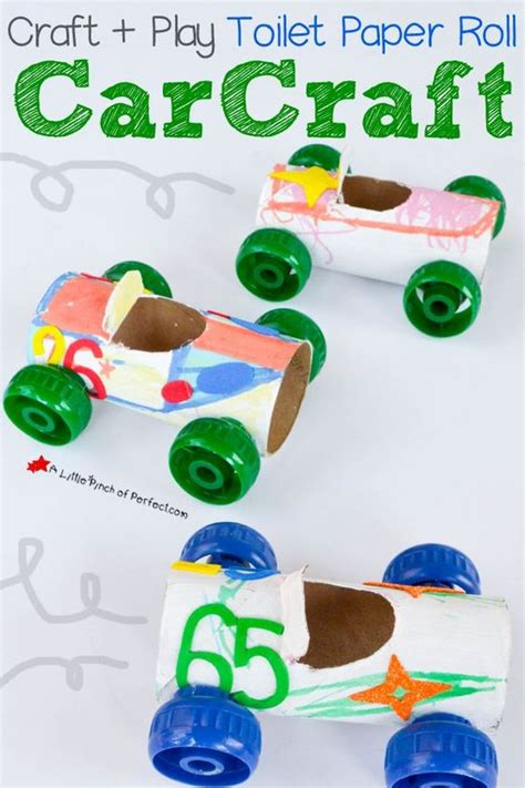 Toilet Paper Roll Car Craft - car crafts toilet paper rolls and toilet paper on