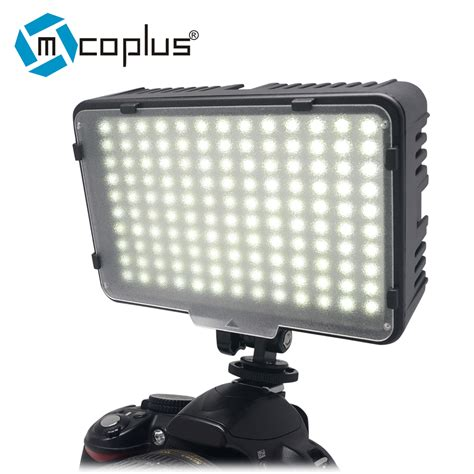illuminazione fotografica mcoplus 130 led light photography l for canon