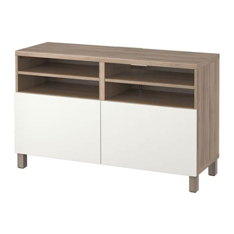 besta bench best 197 tv bench with doors 120x40x74 cm walnut effect