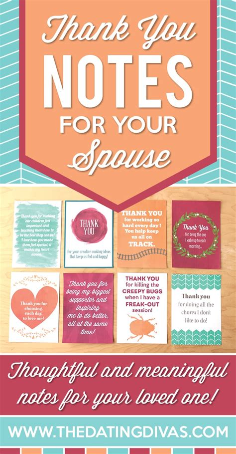 Thank You Letter Husband 10 thank you notes for your spouse