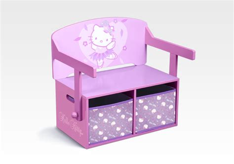 minnie mouse storage bench character furniture hello kitty 3 in 1 storage bench desk