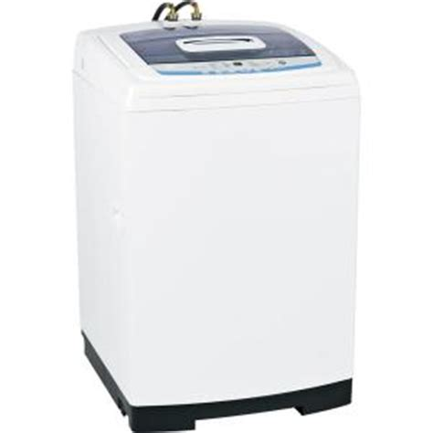 ge 2 7 cu ft portable top load washer in white