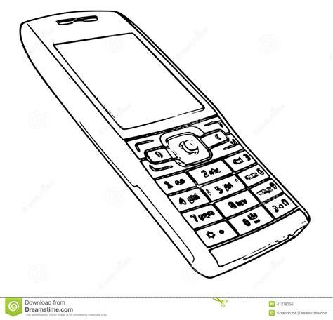 doodle draw windows phone στοκ εικόνα με δικαίωμα ελεύθερης χρήσης retro mobile
